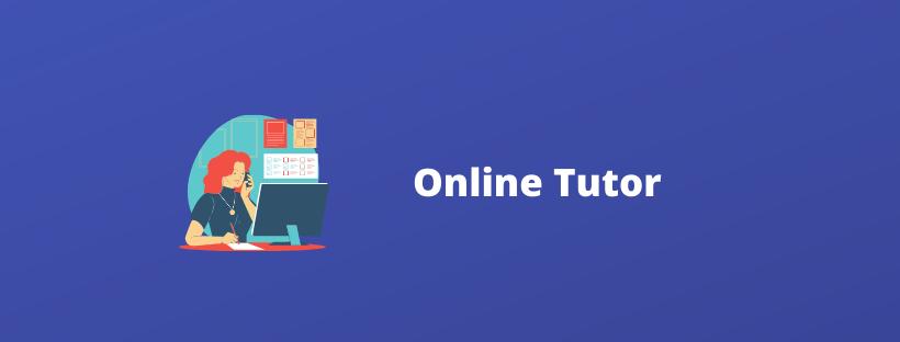Online tutor online business ideas