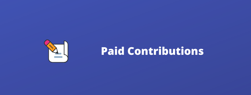 paid contributors