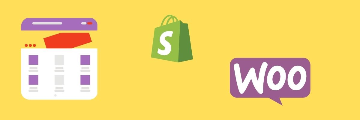 how to start an online boutique using ecommerce platforms woocommerce shopify logo