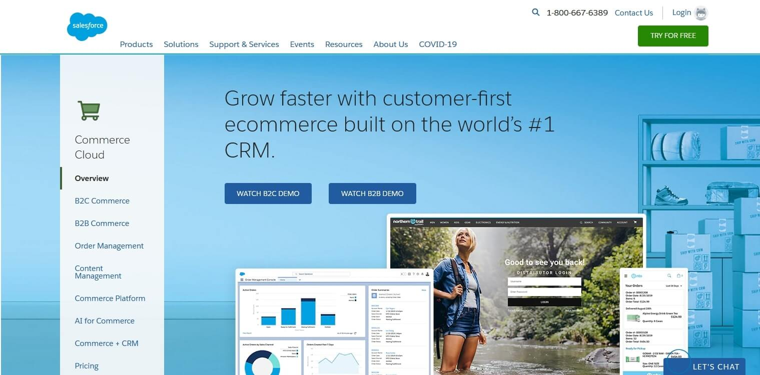 Salesforce Commerce Cloud for enterprise level solution