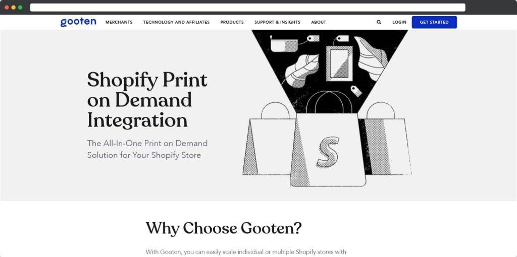 Gooten shopify