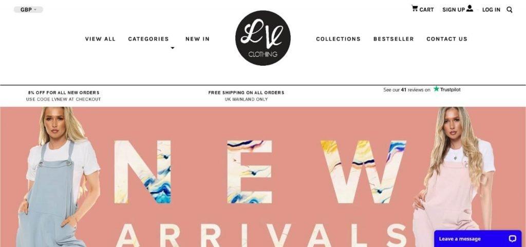 lv clothing wholesale vendor