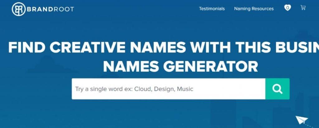 Brandroot shopify name generator