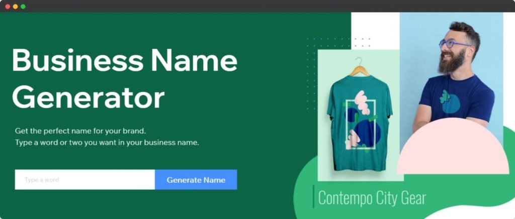 Wix Business Name Generator