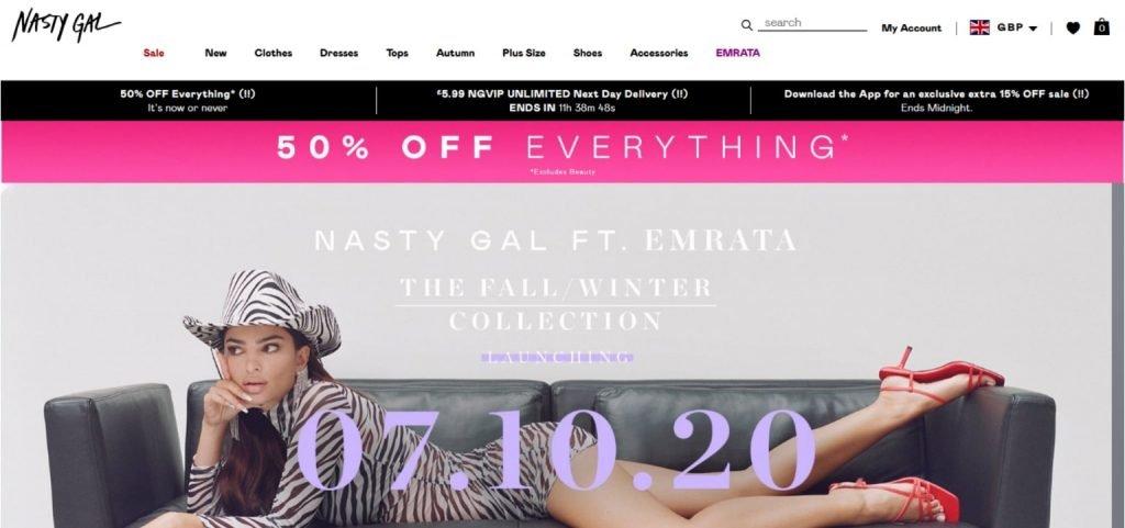 Nasty Girl Fashion Shop
