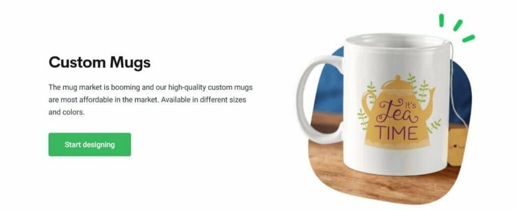 Printify mugs