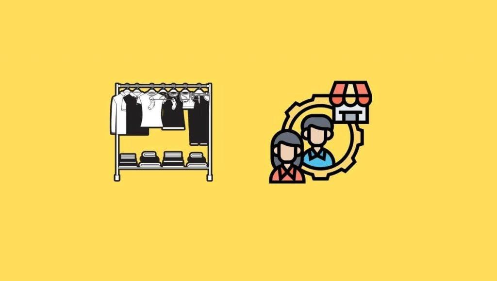 Clothing dropshipper