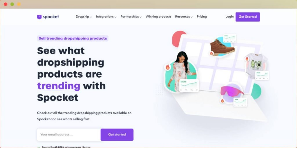 Spocket dropshipping UK and Europe