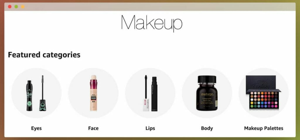 Amazon Business Cosmetics